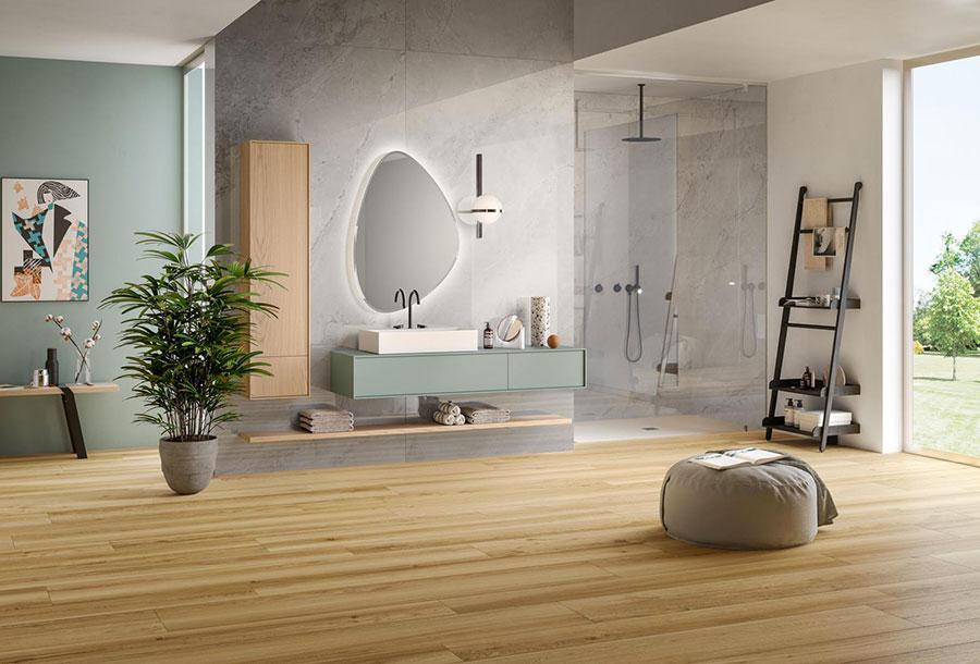 Rivestimenti per bagno moderno idee dal design sorprendente