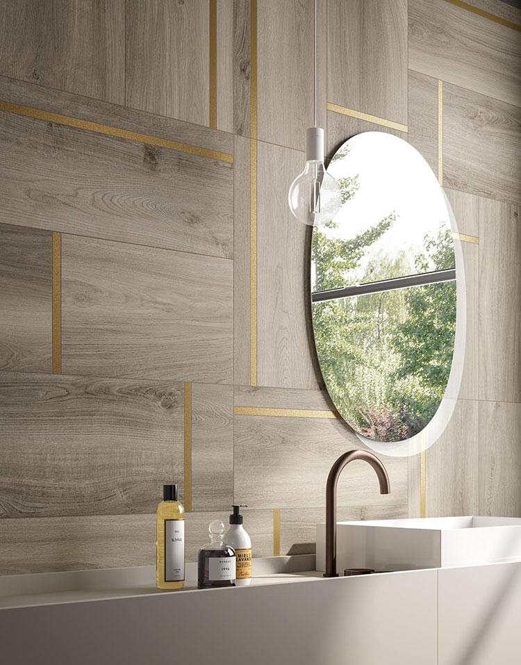 Piastrelle per bagno moderno di Panaria Ceramica n.04