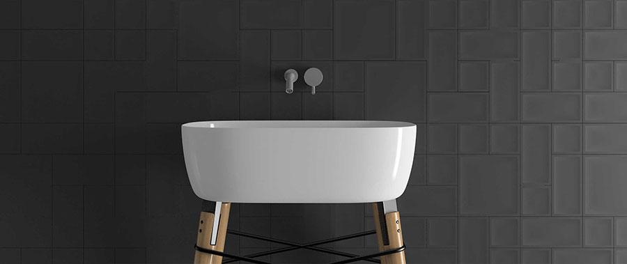 Piastrelle per bagno moderno di Wow Design n.01