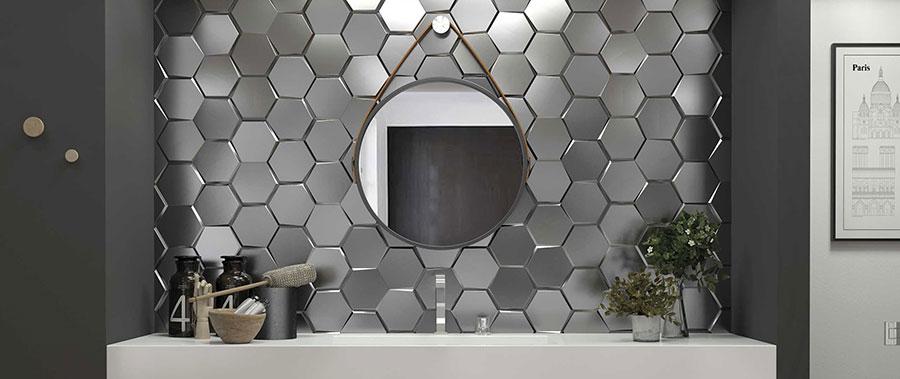 Piastrelle per bagno moderno di Wow Design n.04