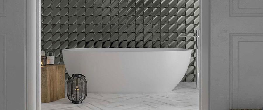 Piastrelle per bagno moderno di Wow Design n.06