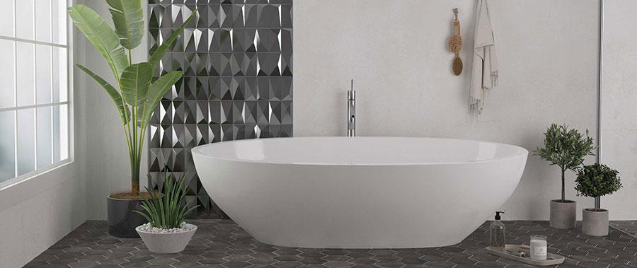 Piastrelle per bagno moderno di Wow Design n.07