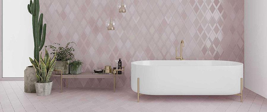 Piastrelle per bagno moderno di Wow Design n.08