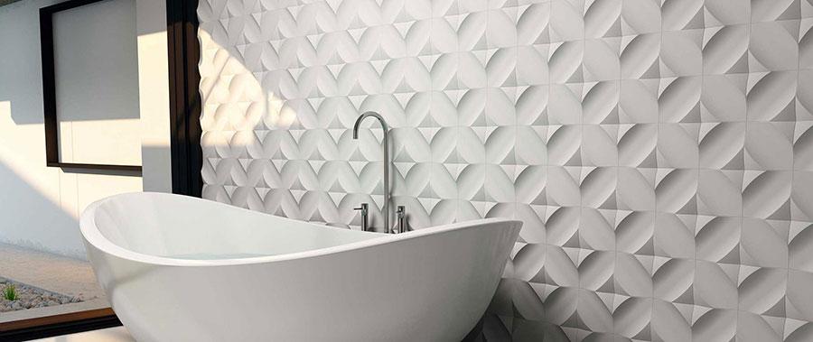 Piastrelle per bagno moderno di Wow Design n.09