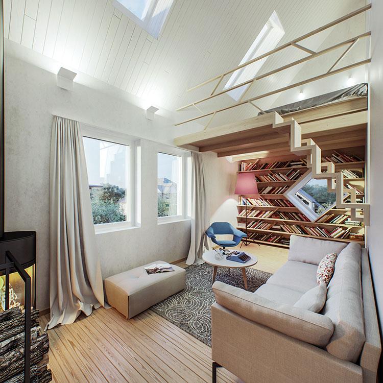 Come arredare una casa piccola oltre 50 idee e soluzioni for Soluzioni salvaspazio casa