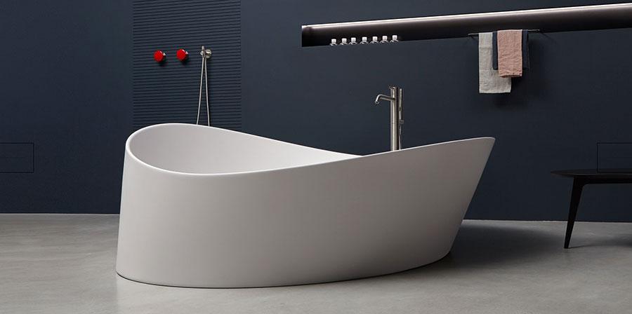 Vasca da bagno a libera installazione di Antonio Lupi n.01