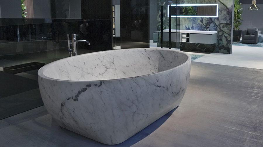 Vasca da bagno a libera installazione di Antonio Lupi n.03