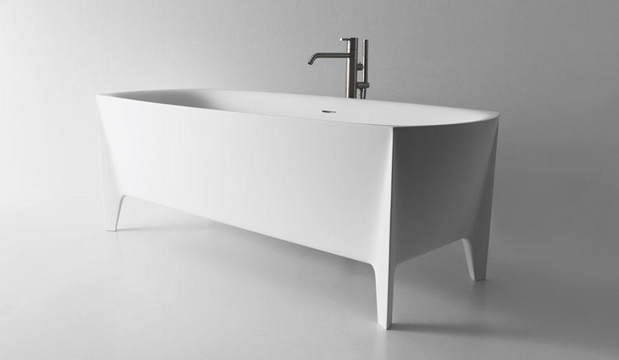 Vasca da bagno a libera installazione di Antonio Lupi n.04