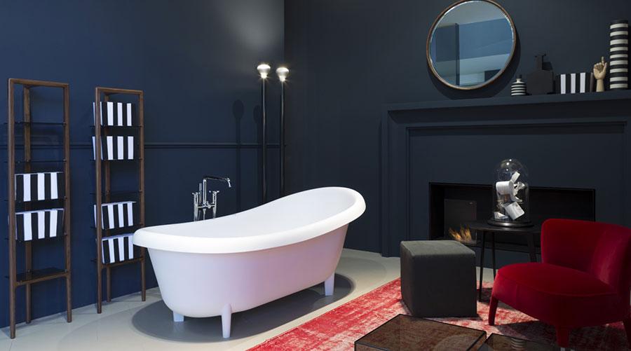 Vasca da bagno a libera installazione di Antonio Lupi n.05