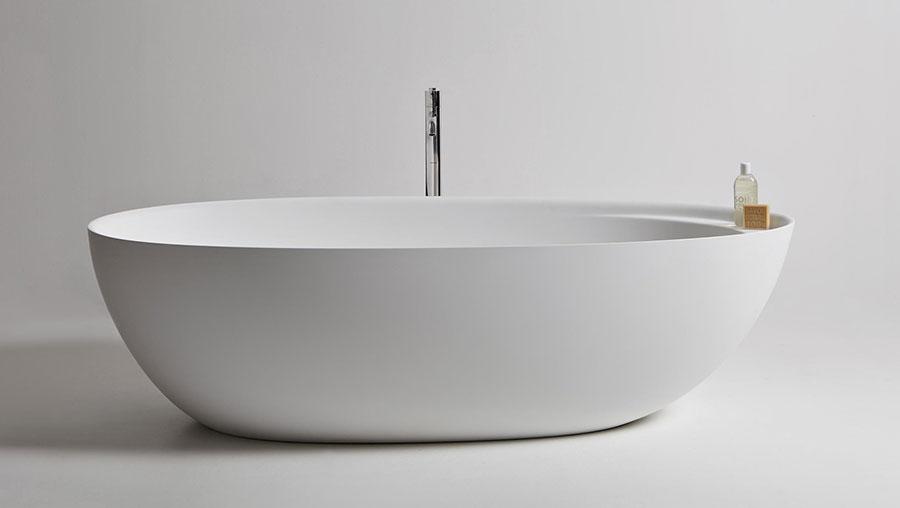 Vasca da bagno a libera installazione di Antonio Lupi n.07