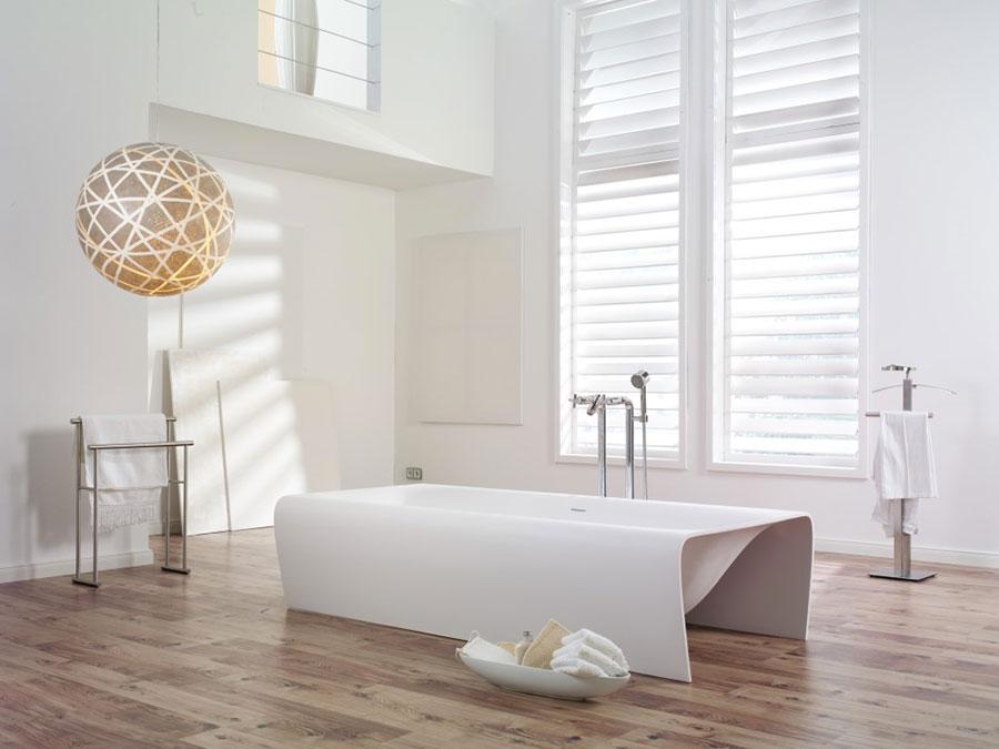 Vasca da bagno a libera installazione di AQUAdesign n.01