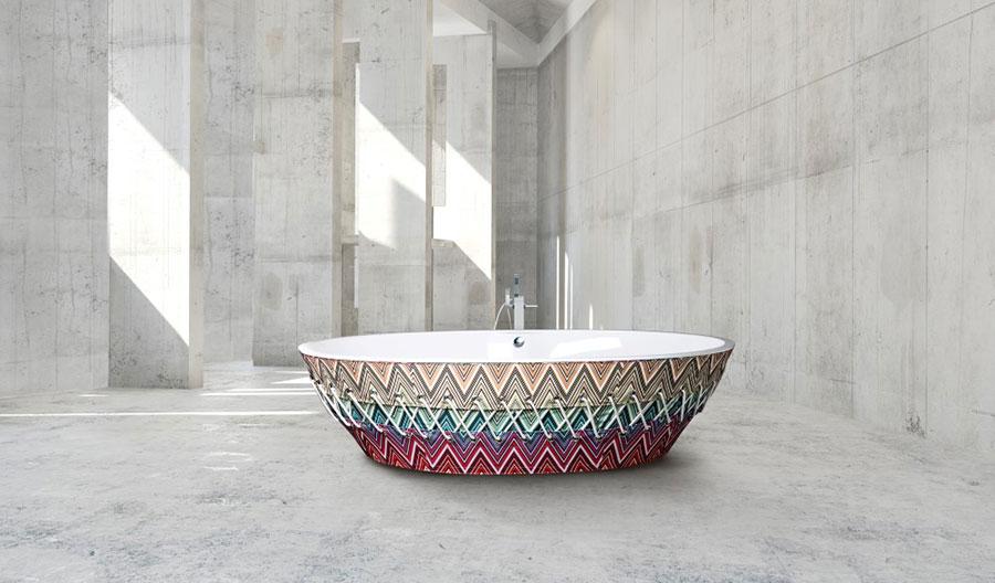 Vasca da bagno a libera installazione di AQUAdesign n.02