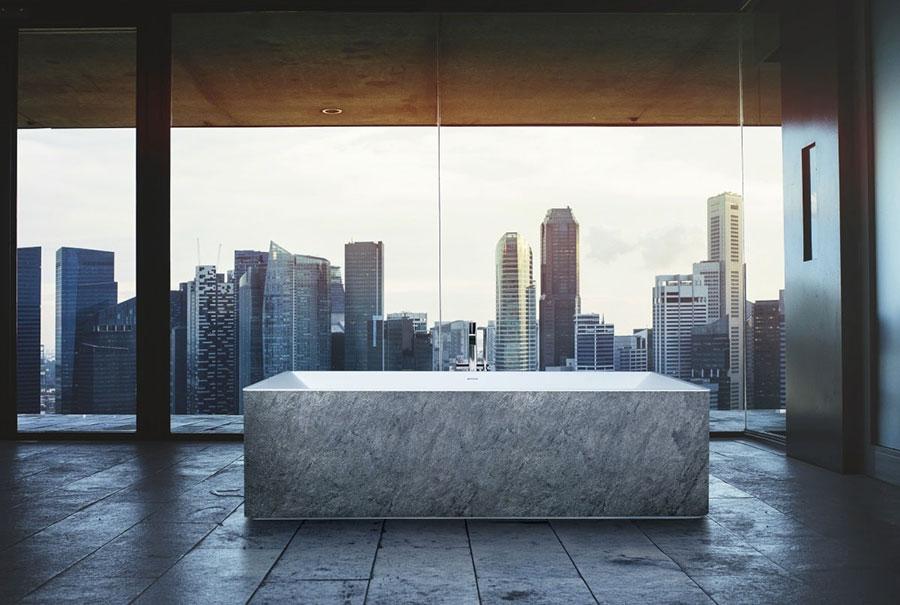 Vasca da bagno a libera installazione di AQUAdesign n.03