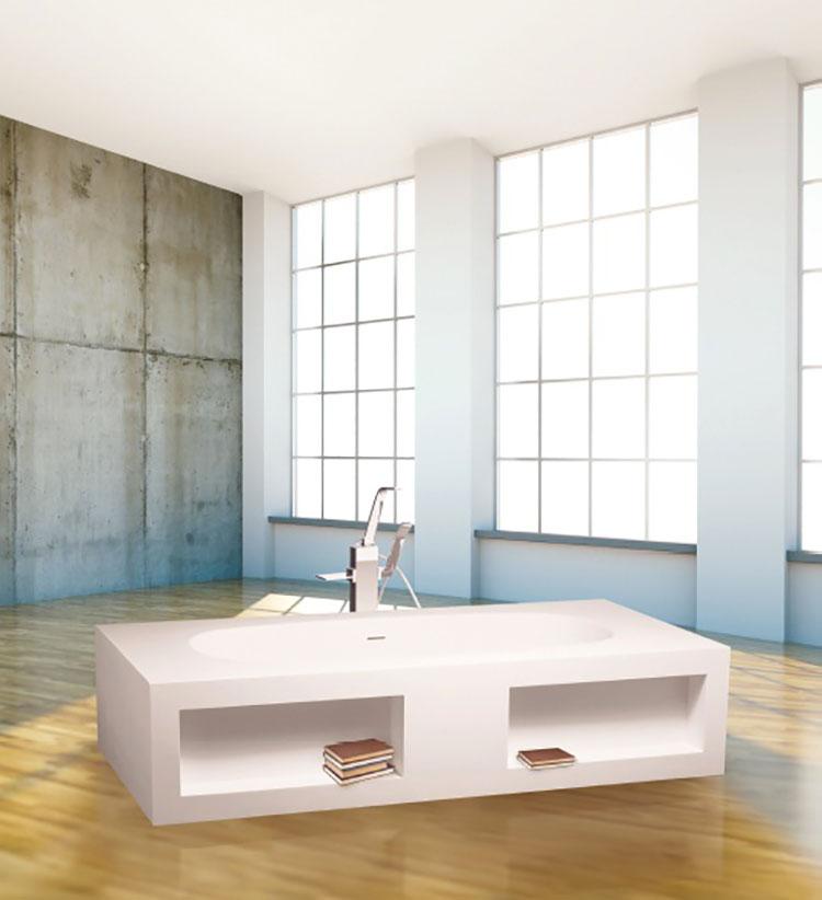 Vasca da bagno a libera installazione di AQUAdesign n.04