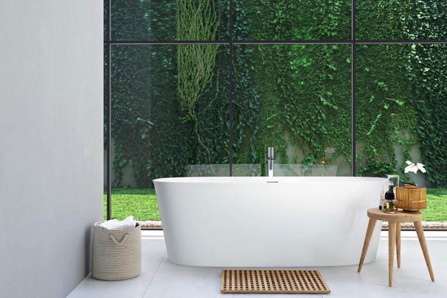 Vasca da bagno a libera installazione di AQUAdesign n.05