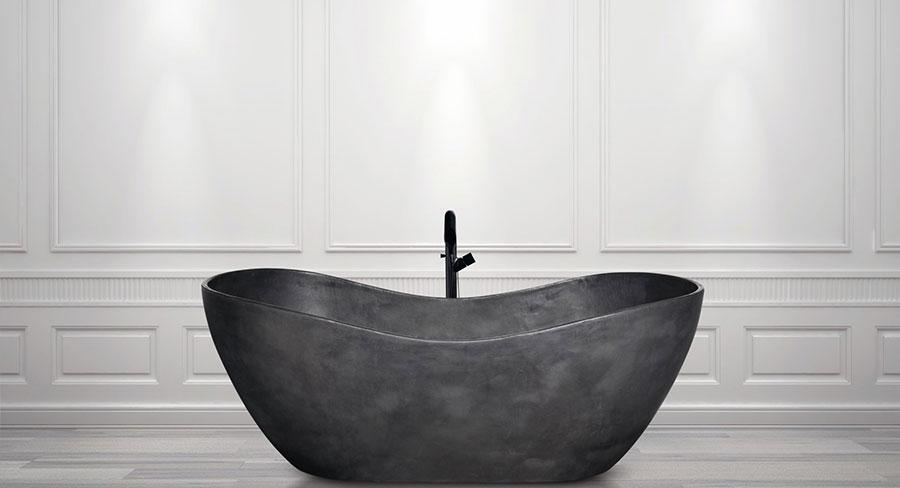 Vasca da bagno a libera installazione di AQUAdesign n.06