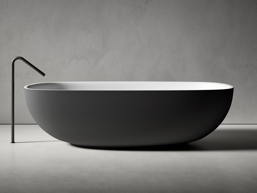 Vasca da bagno a libera installazione di Boffi n.01
