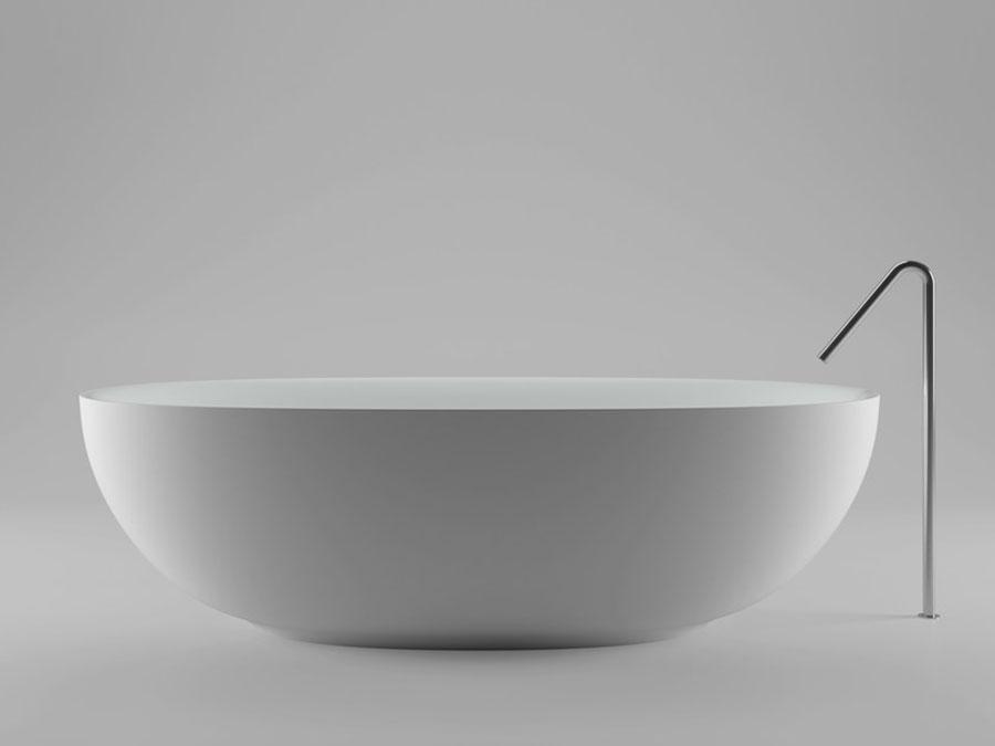 Vasca da bagno a libera installazione di Boffi n.02