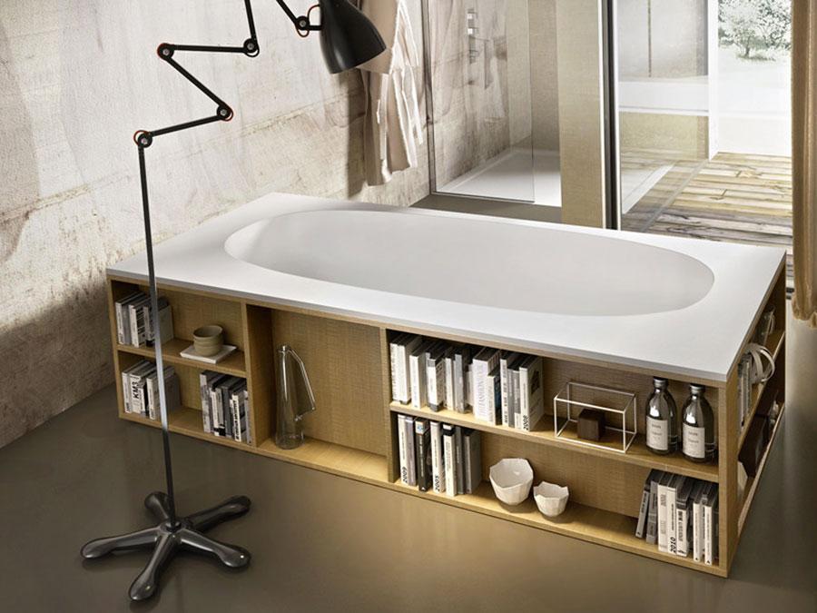 Vasca da bagno a libera installazione di Edoné n.01
