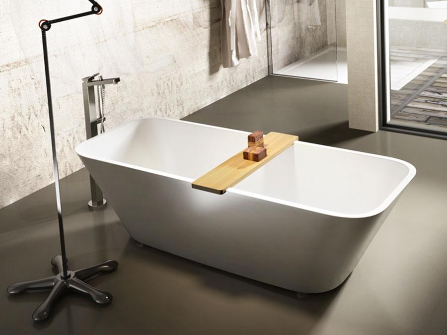 Vasca da bagno a libera installazione di Edoné n.02