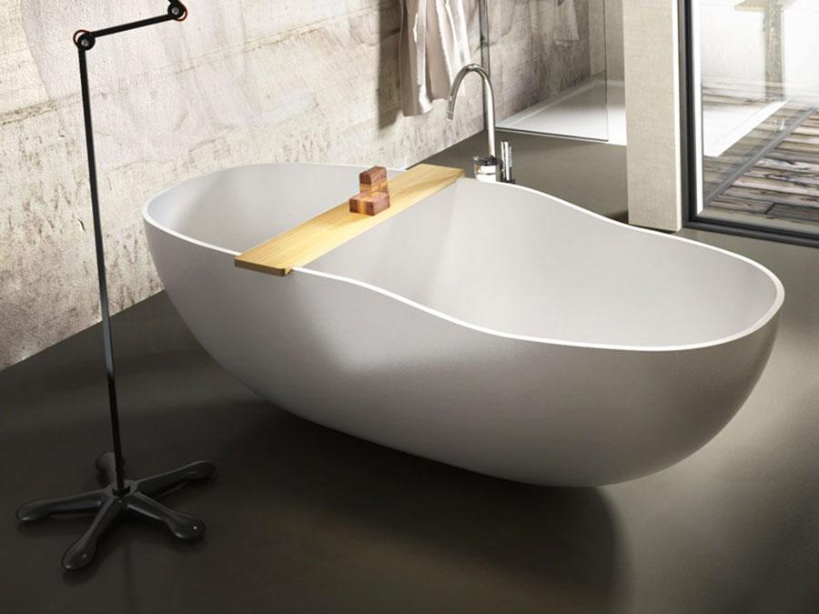 Vasca da bagno a libera installazione di Edoné n.03