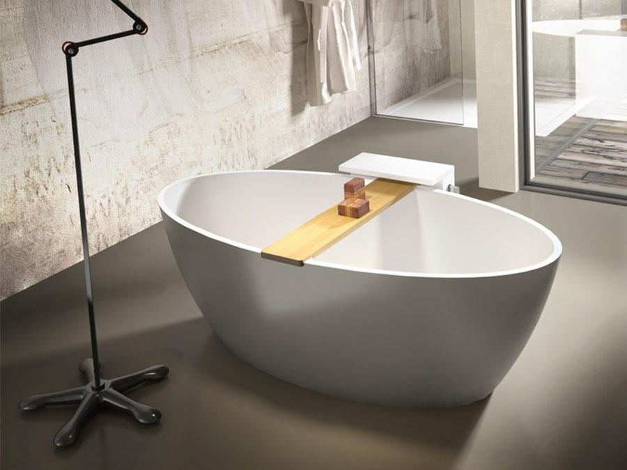 Vasca da bagno a libera installazione di Edoné n.04