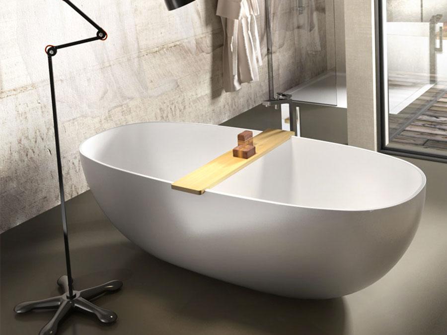 Vasca da bagno a libera installazione di Edoné n.05