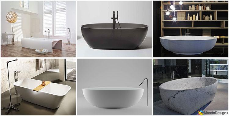 Vasca Da Bagno Freestanding Rotonda : Vasche da bagno freestanding delle migliori marche mondodesign