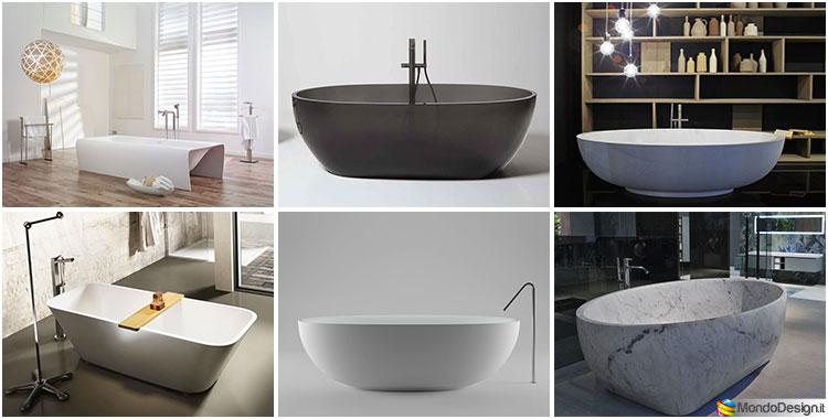 Vasche da bagno freestanding delle migliori marche - Migliori marche ceramiche bagno ...