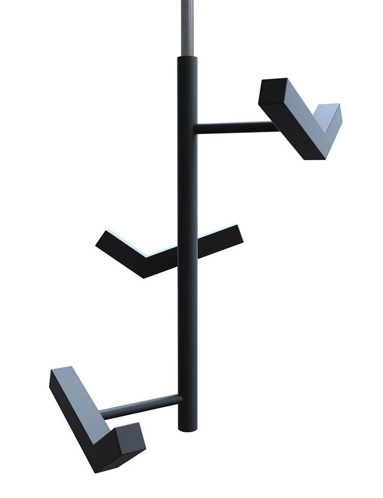 Attaccapanni per ingresso di design di Insilvis n.5