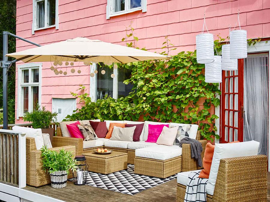 Divani per terrazzo Ikea 4