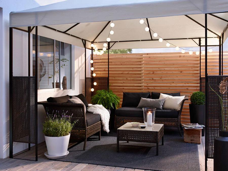 Divani per terrazzo Ikea 5