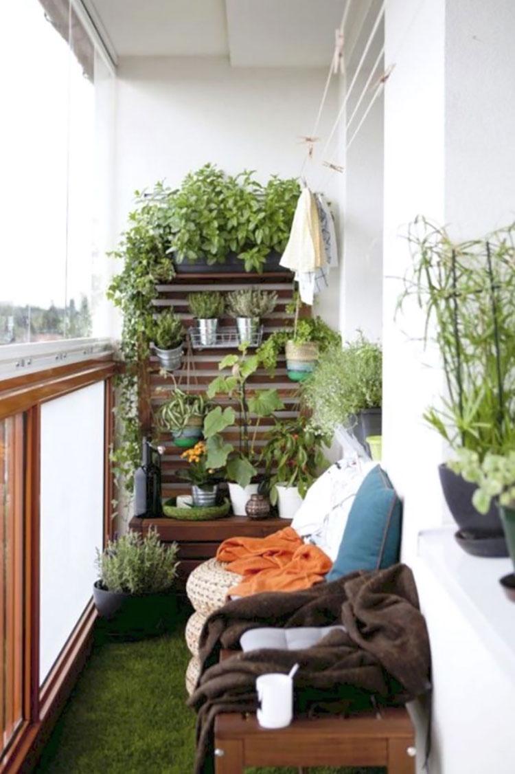 Idee per arredare un balcone Ikea n.21