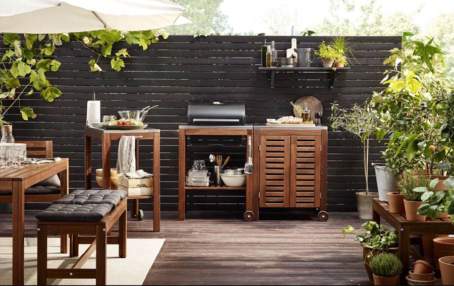 Barbecue per terrazzo Ikea 1