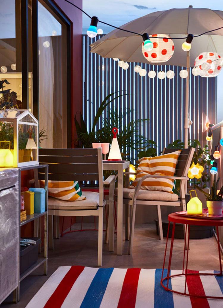 Tessuti per terrazzo Ikea 4