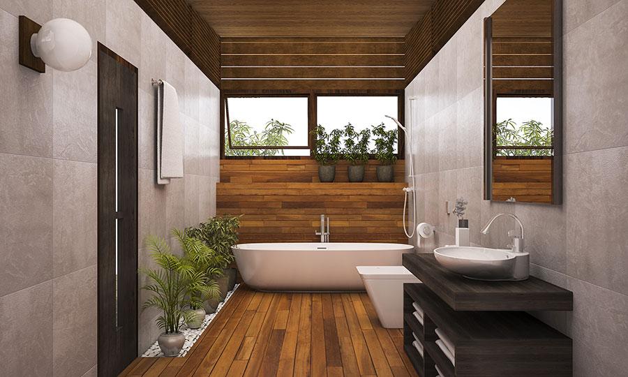 Quali arredi scegliere per un bagno Fen Shui 1