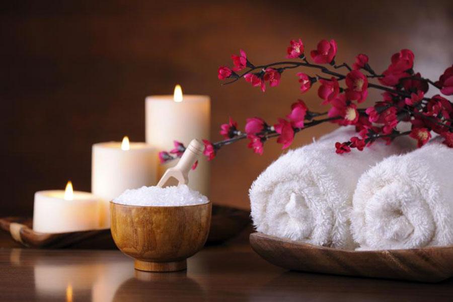 Come usare le candele in un bagno Fen Shui 1