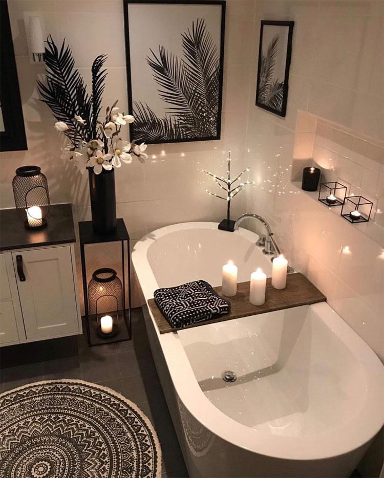 Come usare le candele in un bagno Fen Shui 2