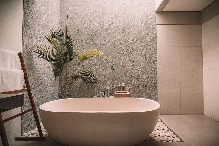 Quali colori scegliere per un bagno Fen Shui 4