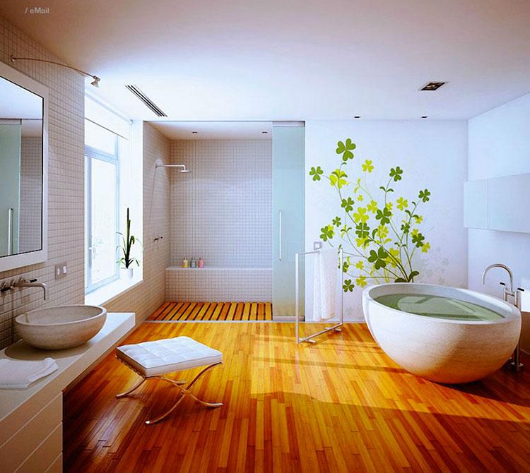 Quali luci scegliere per un bagno Fen Shui 3
