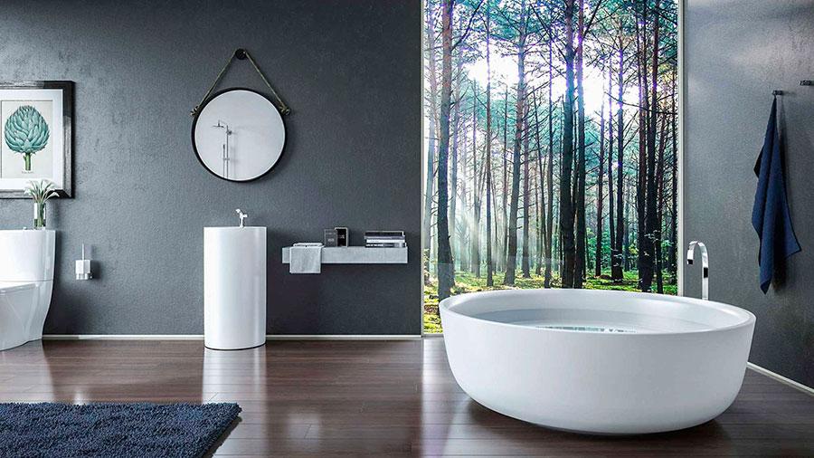 Quali specchi scegliere per un bagno Fen Shui 2