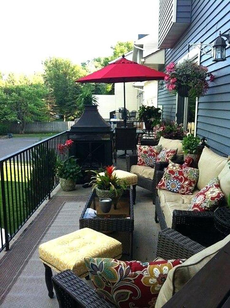 20 idee per arredare un balcone stretto e lungo