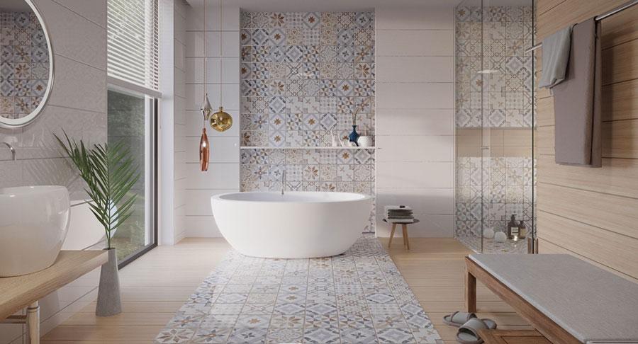Idee per decorare il bagno n.01