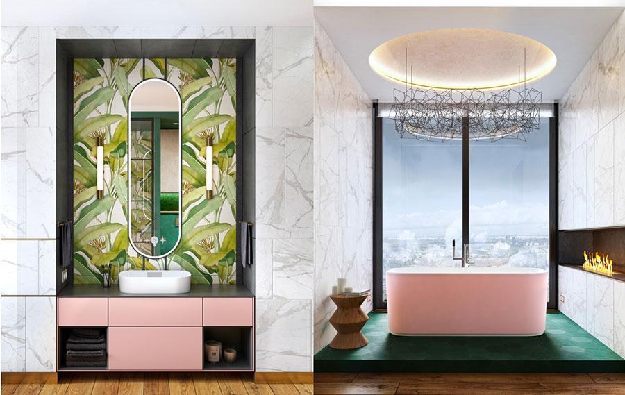 Idee per decorare il bagno n.07