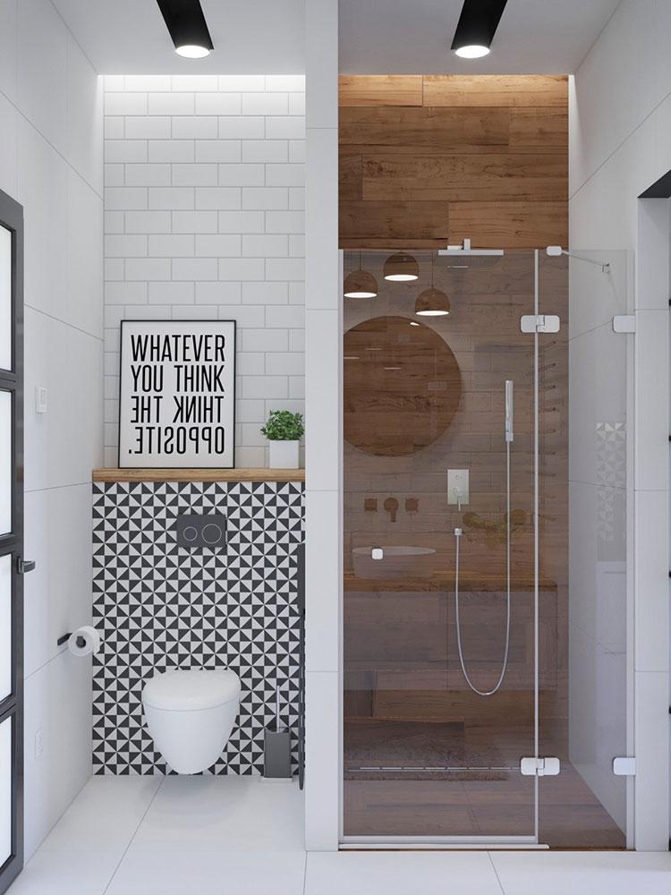 Idee per decorare il bagno n.11