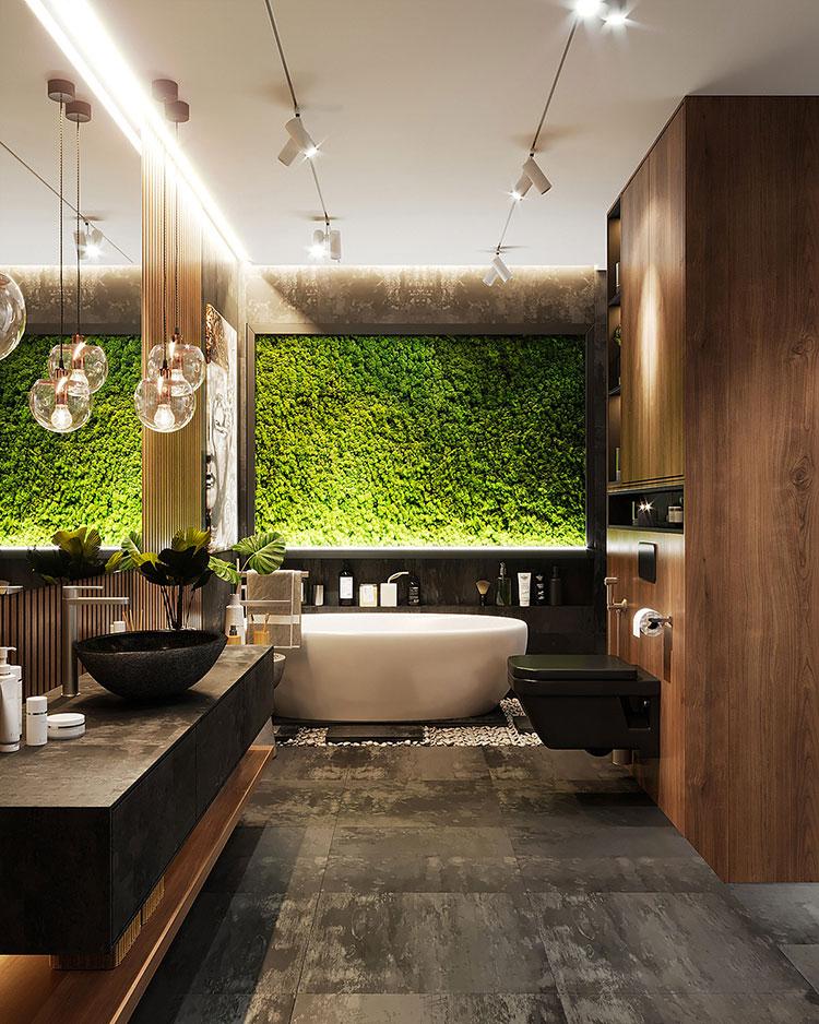 Idee per decorare il bagno n.13