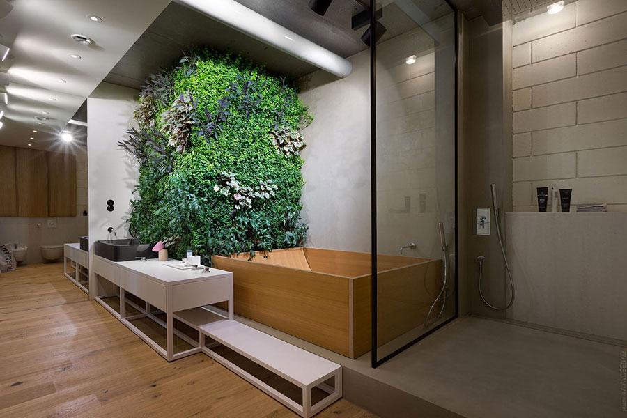 Idee per decorare il bagno n.14