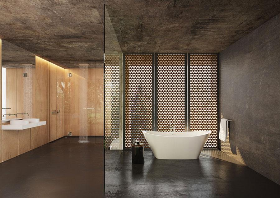 Idee per decorare il bagno n.18