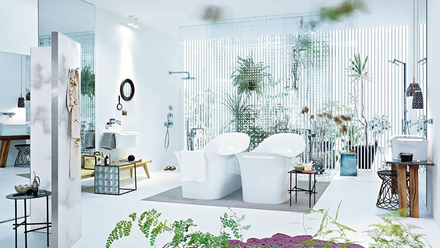 Idee per decorare il bagno n.19