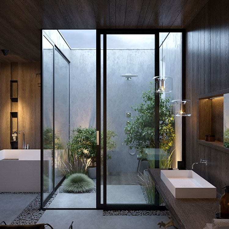Idee per decorare il bagno n.22